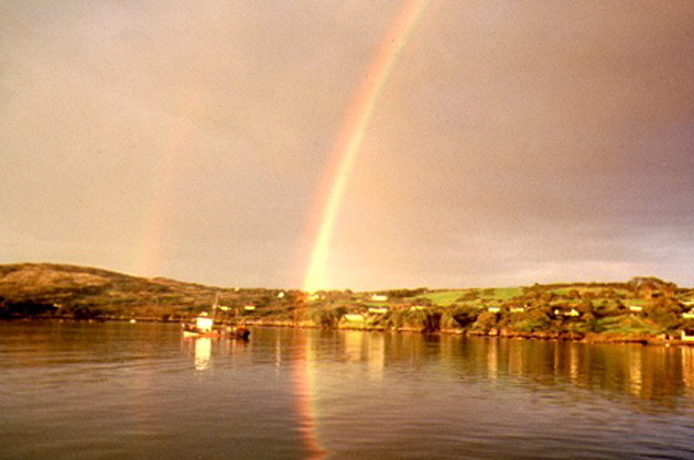 Schull Harbor Rainbow